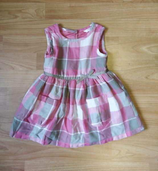 Letní šaty spodšívkou