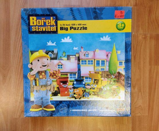 Velké puzzle – Bořek stavitel