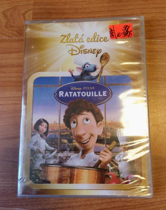DVD Disney zaltá edice – RATATOUILLE
