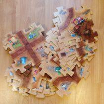 Velké puzzle – Stavební stroje