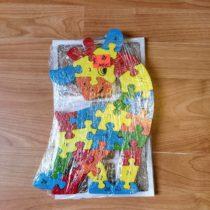 Dřevěné puzzle – Žirafa