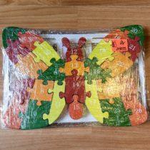Dřevěné puzzle – Motýl