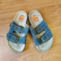 Kožené, korkové pantofle