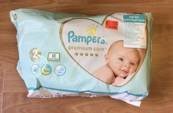 Pampers premium care pleny