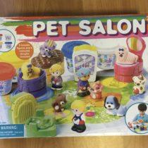 Pet salon – formičky na plastelínu