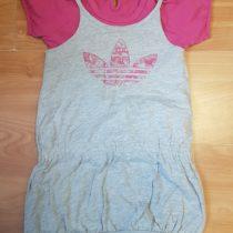 Set letní šaty + triko Adidas