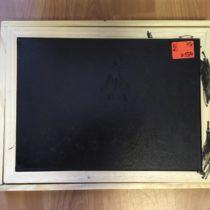 Dřevěná magnetická tabule smagnetkami