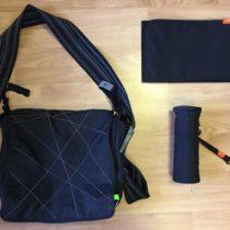 Přebalovací taška+podložky+termoobal na lahev Lassig
