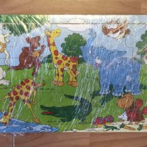 Dřevěné puzzle – Safari.