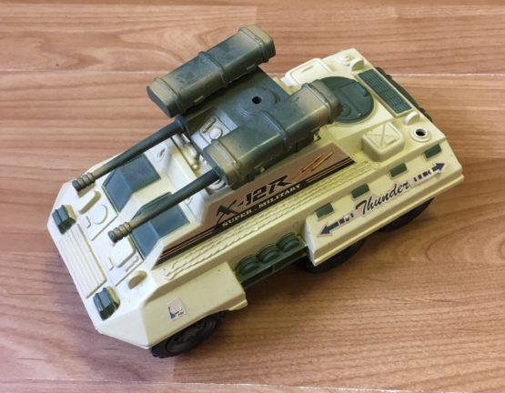 Plastový tank King