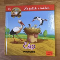 Kniha – Čáp-na polích a lukách
