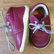 Kotníčkové kožené boty Béďa