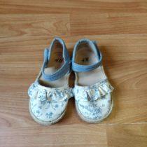Plátěné sandálky H&M