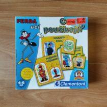 Hra Clementoni Ferda učí – Co používají?