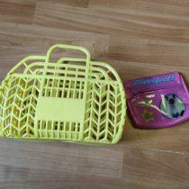 SET- plastový kufřík+peněženka