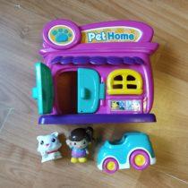 Plastový domeček Pet home