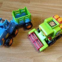 Set zemědělských strojů