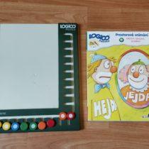 Logico Piccolo rámeček + karty pro prostorové vnímání