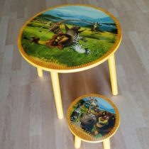 Set židlička + stoleček Madagaskar