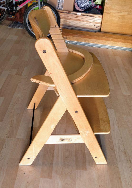 Rostoucí židlička Hauck se zábranou