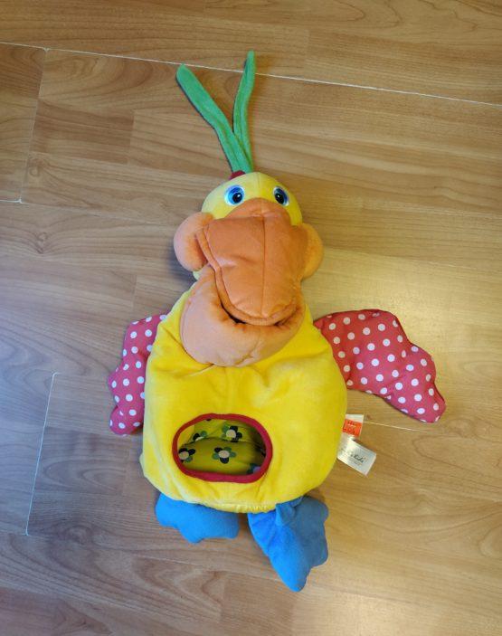 Koš/kapsář na hračky – Pelikán