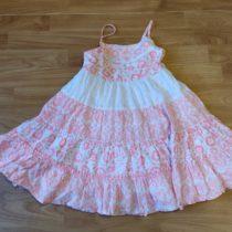 Letní, bavlněné šaty George na ramínka