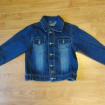 Riflová bunda Blu base