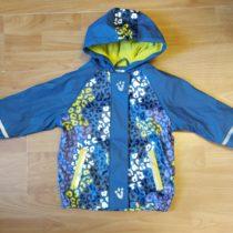 Pogumovaná bunda LUPILU podšitá teplým fleecem