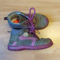 Kožené, kotníčkové boty Superfit
