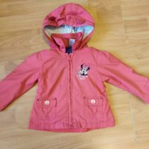 Šusťákový kabátek Minnie spodšívkou + mikina