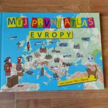 Kniha – Můj první atlas Evropy