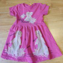 Bavlněné šaty Elsa a Anna
