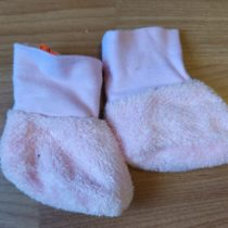 Chlupaté capáčky/ponožky