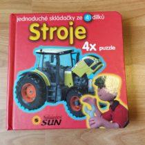 Kniha – Puzzle – Stroje