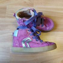 Kotníčkové, kožené boty Geox