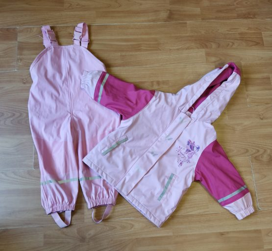 Pogumovaný set bunda + kalhoty Lupilu