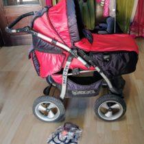 Kočárek Jack-Pol Sprinter – nafukovací kola
