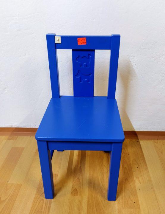 Dětská židlička Ikea – modrá