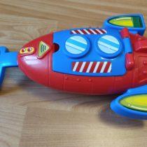 Plastová raketa/ponorka