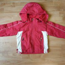Šusťáková bunda podšitá teplým fleecem