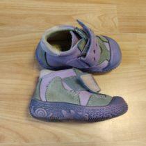 Kožené, kotníkové boty SANTÉ