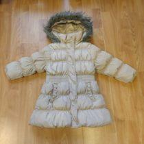Zimní, prošívaný kabát/bunda NEXT kapucí