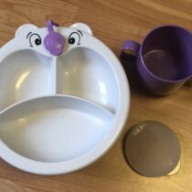 Jídelní set talířek + hrneček