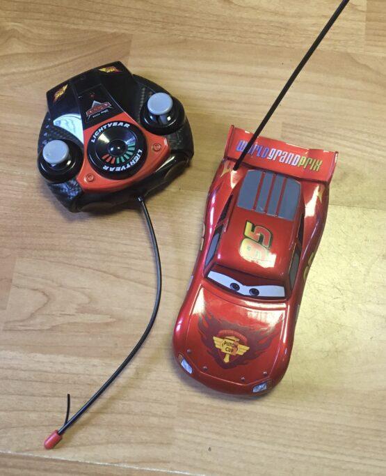 Auto McQueen + dálkové ovládání