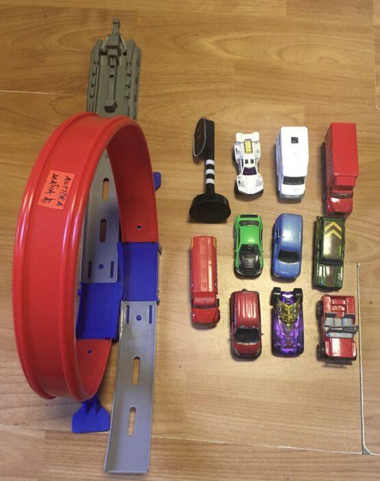Set autíčka+dráha