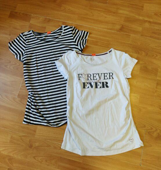 Set kojících triček Esmara, 2ks