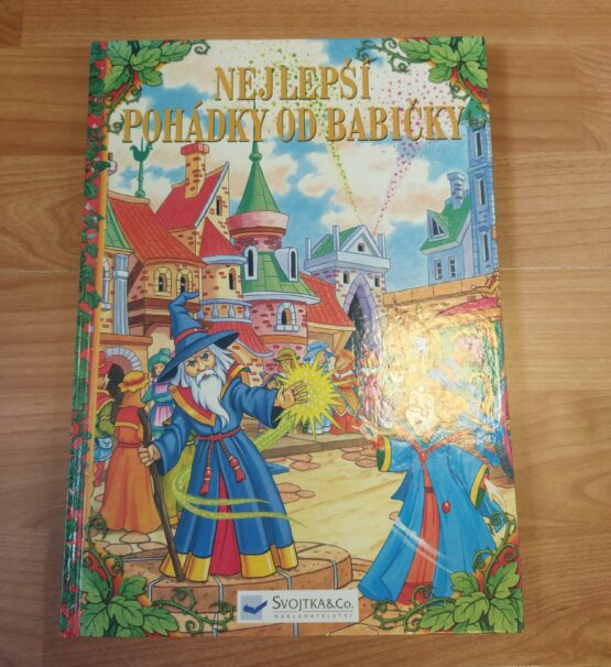 Kniha – Nejlepší pohádky od babičky