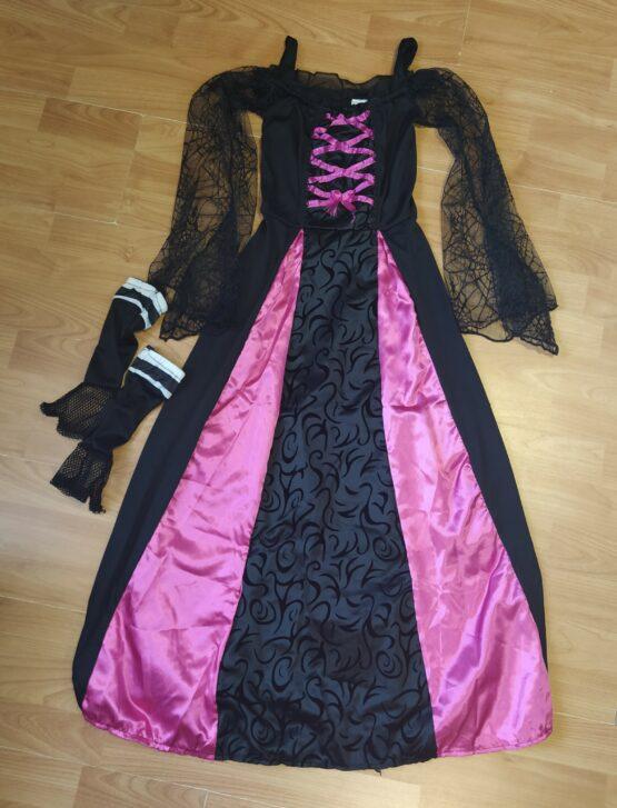 Kostým čarodějnice + rukavice