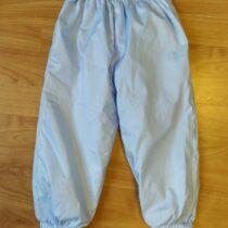 Šusťákové kalhoty podšité teplým fleecem