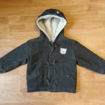 Zimní, manšestrová bunda